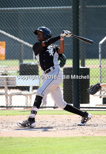 Cabera Weaver / Caberea Weaver - 2018 AIL White Sox (Bill Mitchell)