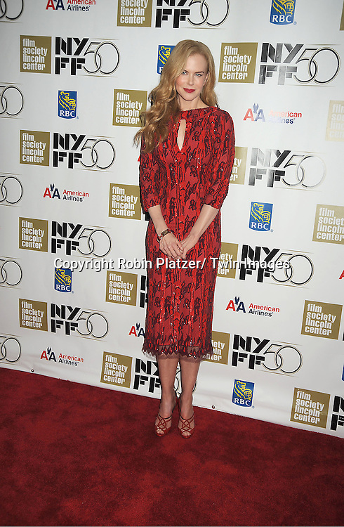 "Nicole Kidman in L'Wren Scott red dress attends the Film Society of Lincoln Center Gala Tribute to Nicole Kidman and the US Premiere of ""The Paperboy"" at the 2012 New York Film Festival  on October 3, 2012 at Alice Tully Hall in New York City. The movie stars Nicole Kidman, Macy Gray, David Oyelowo and Naella Gordon and was directed by Lee Daniels."