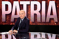 Journalist and writer Aldo Cazzullo<br /> Rome January 24th 2019. The Italian Minister of Internal Affairs appears as a guest on the tv show Povera Italia.<br /> Foto Samantha Zucchi Insidefoto