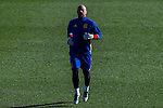 Spainsh Pepe Reina during the training of the spanish national football team in the city of football of Las Rozas in Madrid, Spain. November 10, 2016. (ALTERPHOTOS/Rodrigo Jimenez)