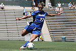 28 August 2011: Duke's Ashley Rape. The Duke University Blue Devils defeated the Fighting Irish of Notre Dame 3-1 at Fetzer Field in Chapel Hill, North Carolina in an NCAA Women's Soccer game.