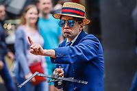 Nova York (EUA), 21/04/2019 - Parada / Páscoa / Estados Unidos - Populares são vistos durante a Parada de Páscoa em frente a catedral de São Patricio em Nova York nos Estados Unidos neste domingo, 21. (Foto: William Volcov/Brazil Photo Press)
