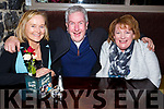 Enjoying a night out in the Brogue Inn on Saturday night last from Abbeydorney.<br /> L-r Margaret and Kieran Shaughnessy and Cathy Murnane.