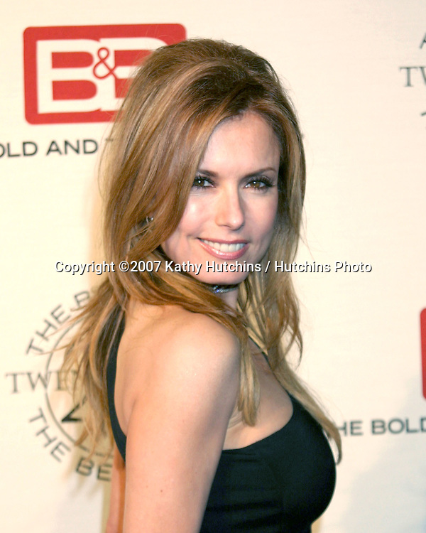 Tracey Bregman.The Bold & The Beautiful 20th Anniversary Party.Two Rodeo Drive.Beverly Hills, CA.March 25, 2007.©2007 Kathy Hutchins / Hutchins Photo.