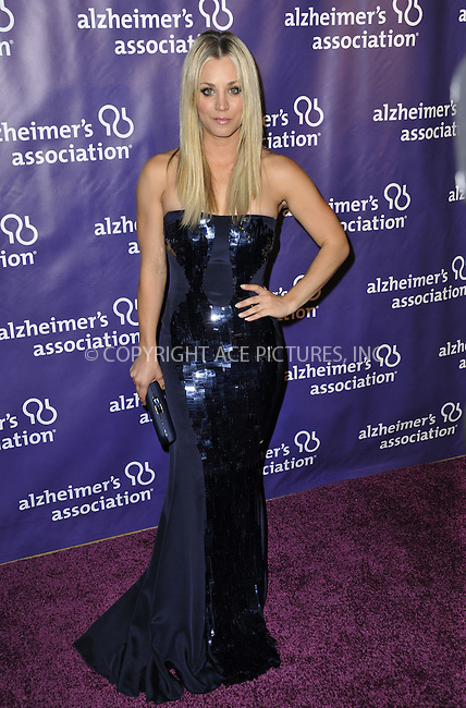 WWW.ACEPIXS.COM....March 20 2013, LA......Kaley Cuoco arriving at the 21st Annual 'A Night At Sardi's' to benefit the Alzheimer's Association at The Beverly Hilton Hotel on March 20, 2013 in Beverly Hills, California.....By Line: Peter West/ACE Pictures......ACE Pictures, Inc...tel: 646 769 0430..Email: info@acepixs.com..www.acepixs.com