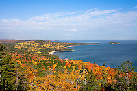View from Sugarloaf Mountain in Autumn, Marquette, MI