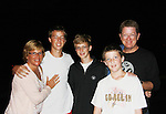 AC's sister Abby, husband Gary & their three kids - Sam, Alex and Dan (AC's nephews) came to see Sunset Boulevard on September 2, 2011 at the Barn Theatre in Augusta, Michigan. (Photo by Sue Coflin/Max Photos)