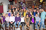 BIRTHDAY GIRL: Gina Kelly, Lisdara, Tralee (seated centre) got a big surprise when family and friends gathered to celebrate her 30th birthday at the Station House restaurant and bar, Blennerville on Saturday.