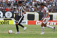 RIO DE JANEIRO, RJ, 10 DE MARCO 2012 - CAMPEONATO CARIOCA - 3a RODADA - TACA RIO - BOTAFOGO X BANGU - Loco Abreu, jogador do Botafogo, durante partida contra o Bangu, pela 3a rodada da Taca Rio, no estadio Proletario, Bangu, na cidade do Rio de Janeiro, neste sabado, 10. FOTO BRUNO TURANO  BRAZIL PHOTO PRESS