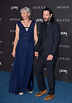 LOS ANGELES, USA. November 03, 2019: Keanu Reeves & Alexandra Grant at the LACMA 2019 Art+Film Gala at the LA County Museum of Art.<br /> Picture: Paul Smith/Featureflash