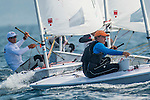 Viktor Teply from Czechoslovakia in action during the ISAF Sailing World Championships 2014 at the Real Club Maritimo of Santander on September 12, 2014 in Santander, Spain. Photo by Nacho Cubero / Power Sport Images