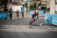 Sonny COLBRELLI (ITA/Bahrain-Merida)<br /> <br /> Stage 5 (ITT): Barbentane to Barbentane (25km)<br /> 77th Paris - Nice 2019 (2.UWT)<br /> <br /> ©kramon