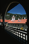 Unesco protected frescoed monasteries of the Troodos mountains. Kykkos monastery, the richest and most fmous of cyprus religious institutions with an exquisite byzantine museum