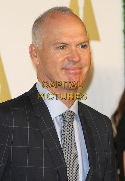 02 February 2015 - Beverly Hills, California - Michael Keaton. 87th Academy Awards Nominee Luncheon held at the The Beverly Hilton Hotel.