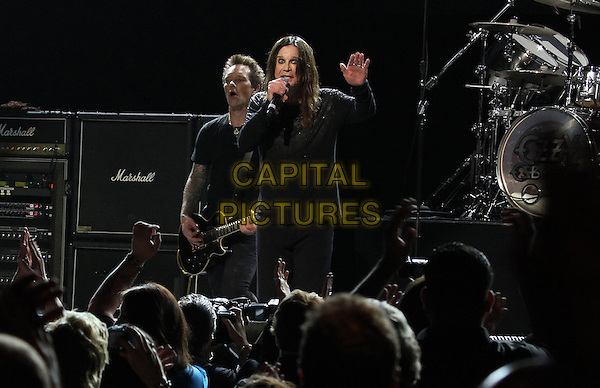 Los Angeles, CA - May 12: Billy Morrison, Ozzy Osbourne Attending 2014 MusiCares MAP Fund Benefit Concert - Show At Club Nokia  California on May 12, 2014.  <br /> CAP/MPI/RTNUPA<br /> &copy;RTNUPA/MediaPunch/Capital Pictures