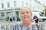 Noreen Galvin Castlegregory <br /> &quot;I think the Mall as a shared space is a good idea and moving the taxi's is too. I think there is enough parking in town already. The traffic was two way before.&quot;