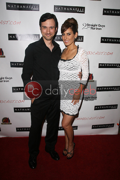 Josh Robert Thompson and Kerri Kasem<br />
