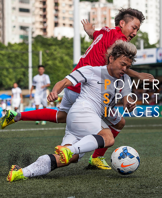 Guangzhou Evergrande vs HKFA U-23 during the Day 2 of the HKFC Citibank Soccer Sevens 2014 on May 24, 2014 at the Hong Kong Football Club in Hong Kong, China. Photo by Xaume Olleros / Power Sport Images
