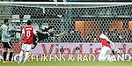 Nederland, Alkmaar, 19 januari  2013.Eredivisie.Seizoen 2012/2013.AZ-Vitesse 4-1.Jozy Altidore van AZ scoort de 1-0