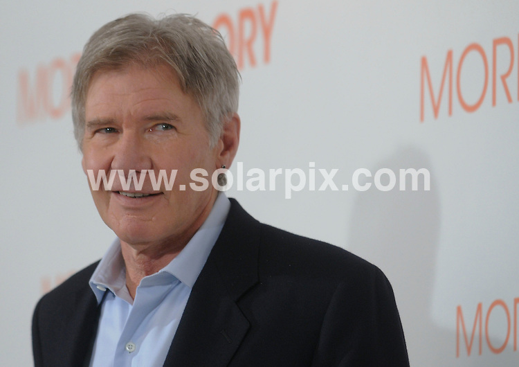 **ALL ROUND PICTURES FROM SOLARPIX.COM**                                             **WORLDWIDE SYNDICATION RIGHTS EXCEPT SPAIN & SOUTH AMERICA - NO SYNDICATION IN SPAIN OR SOUTH AMERICA**                                                                                  Caption: Madrid photocall for the new film release Morning Glory. Madrid, Spain. 13 January 2011                                                                              This pic: Harrison Ford                                                                                             JOB REF: 12661 MPA       DATE: 13_01_2011                                                           **MUST CREDIT SOLARPIX.COM OR DOUBLE FEE WILL BE CHARGED**                                                                      **MUST AGREE FEE BEFORE ONLINE USAGE**                               **CALL US ON: +34 952 811 768 or LOW RATE FROM UK 0844 617 7637**