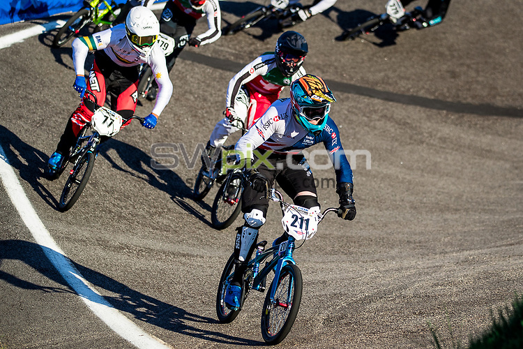 Picture by Alex Whitehead/SWpix.com - 29/07/2017 - Cycling - 2017 UCI BMX World Championships - Novant Health BMX Supercross Track, Rock Hill, USA - Kyle Evans of Great Britain.