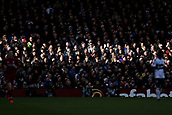 17th March 2019, Craven Cottage, London, England; EPL Premier League football, Fulham versus Liverpool; Sun light shines on the crowd in the stands