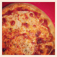 This was my first homemade pizza of 2013, on February 8, 2013.