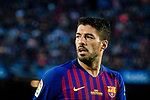Luis Suarez of FC Barcelona in action during the La Liga match between Barcelona and Real Sociedad at Camp Nou on May 20, 2018 in Barcelona, Spain. Photo by Vicens Gimenez / Power Sport Images
