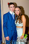 Listowel Community College, St Michael's College, Listowel and Presentation, Listowel, enjoying their Debs at the Brandon Hotel on Thursday night. Pictured Tiernan Ball and Jane Downey.