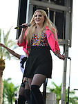 SUNRISE, FL - DECEMBER 21: Singer/songwriter Meghan Trainor performs at Y100's Jingle Ball Village, Y100's Jingle Ball 2014 official pre-show at BB&T Center on December 21, 2014 in Sunrise, Florida.  (Photo by Johnny Louis/jlnphotography.com)
