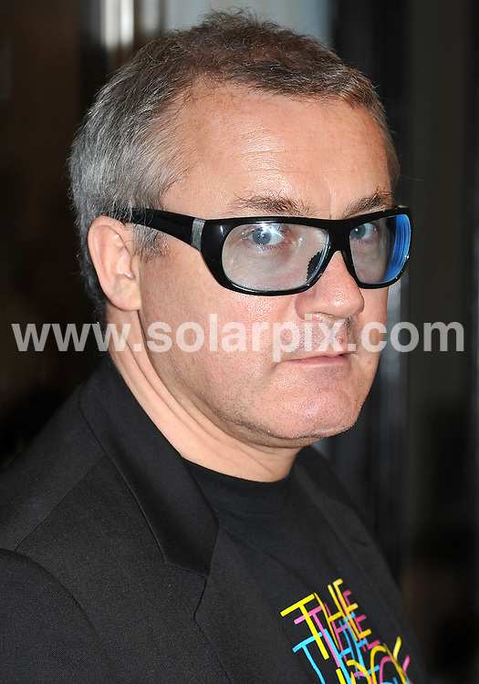 **ALL ROUND PICTURES FROM SOLARPIX.COM**.**WORLDWIDE SYNDICATION RIGHTS**.Damien Hirst photocall ahead of the opening of his new exhibition - No Love Lost: Blue Paintings By Damien Hirst. Held at The Wallace Collection, Hertford House, Manchester Square, London, on Tuesday October 13, 2009..This pic: Damien Hirst..JOB REF: 10104 SSD     DATE: 13_10_2009.**MUST CREDIT SOLARPIX.COM OR DOUBLE FEE WILL BE CHARGED**.**MUST NOTIFY SOLARPIX OF ONLINE USAGE**.**CALL US ON: +34 952 811 768 or LOW RATE FROM UK 0844 617 7637**