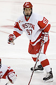 Matt Gilroy - The Boston University Terriers defeated the Boston College Eagles 2-1 in overtime in the March 18, 2006 Hockey East Final at the TD Banknorth Garden in Boston, MA.