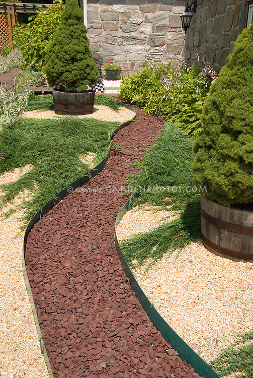 Winding Stone Pathway To House Entry Plant Amp Flower