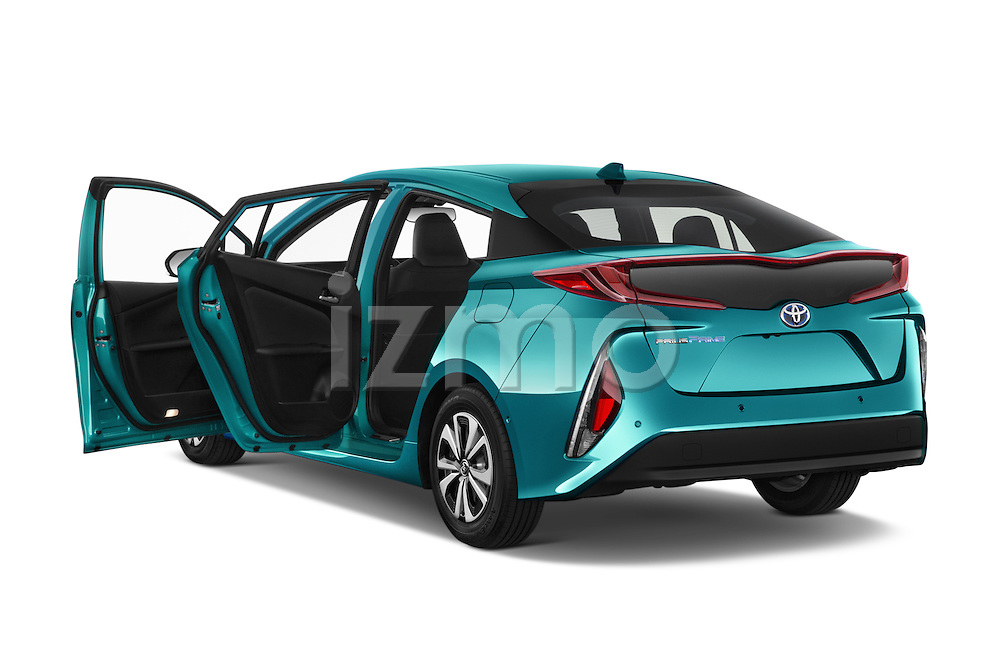 Car images close up view of 2017 Toyota PRIUS PRIME Four 5 Door Hatchback doors