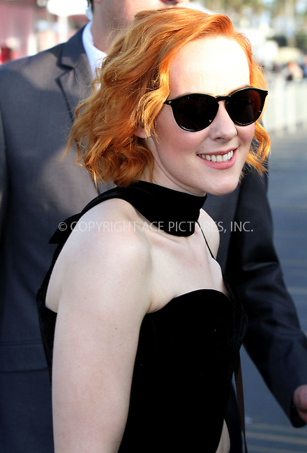 WWW.ACEPIXS.COM<br /> <br /> February 21 2015, Los Angeles CA<br /> <br /> Actress Jena Malone arriving at the 2015 Film Independent Spirit Awards at Santa Monica Beach on February 21, 2015 in Santa Monica, California.<br /> <br /> <br /> Please byline: Nancy Rivera/ACE Pictures<br /> <br /> ACE Pictures, Inc.<br /> www.acepixs.com, Email: info@acepixs.com<br /> Tel: 646 769 0430