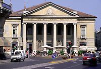 Mantova, Teatro Sociale dell'architetto Luigi Canonica.<br /> Mantua, Teatro Sociale by the architect Luigi Canonica.