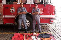 CAMPINAS, SP 02.02.2019-BOMBEIROS de Campinas estao a caminho de Brumadinho, MG, neste sabado (02) para ajudar nas buscas de vitimas. (Foto: Denny Cesare/Codigo19)