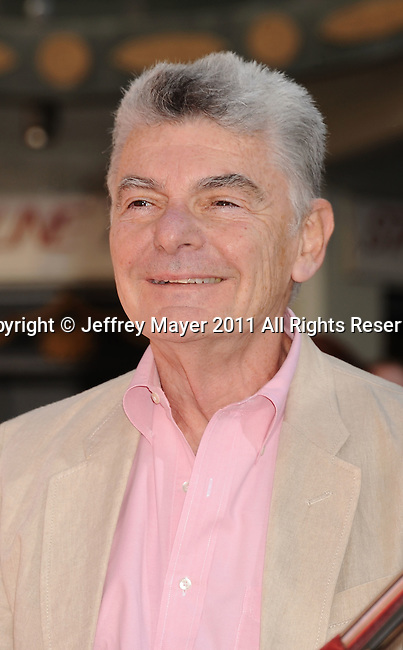 HOLLYWOOD, CA - APRIL 30: Richard Benjamin attends the TCM Classic Film Festival honors Actor Peter O'Toole with hand and foot ceremony held at Grauman's Chinese Theatre on April 30, 2011 in Hollywood, California.