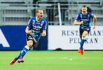 Stockholm 2015-05-30 Fotboll Allsvenskan Hammarby IF - Halmstads BK :  <br /> Halmstads  Christoffer Andersson firar sitt 1-1 m&aring;l under matchen mellan Hammarby IF och Halmstads BK <br /> (Foto: Kenta J&ouml;nsson) Nyckelord:  Fotboll Allsvenskan Tele2 Arena Hammarby HIF Bajen Halmstad Halmstads BK HBK jubel gl&auml;dje lycka glad happy