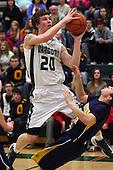 Clarkston at Lake Orion, Boys Varsity Basketball, 3/4/13
