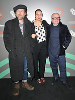 "Paul Kaye, Samantha Morton and Dominic Savage at the ""I Am Kirsty"" BFI & Radio Times Television Festival panel discussion & Q&A, BFI Southbank, Belvedere Road, London, England, UK, on Sunday 14th April 2019.<br /> CAP/CAN<br /> ©CAN/Capital Pictures"