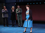 """Will LeBow, Kaitlyn Davidson, Corey March and Debra Monk from  """"Mrs. Miller Does Her Thing""""  at the Signature Theatre on March 18, 2017 in Arlington, Virginia."""
