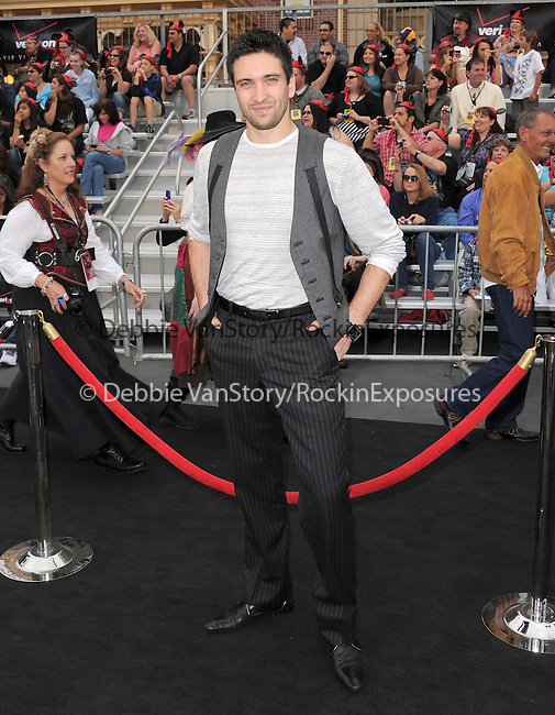 Dmitry Chaplin at Walt Disney Pictures Premiere of Pirates of the Caribbean : On Stranger Tides held at Disneyland in Anaheim, California on May 07,2011                                                                               © 2010 Hollywood Press Agency
