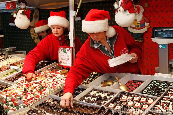 Haarlem- Kraampje op de kerstmarkt