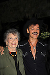 Randy Jones (Village People) celebrates his marriage (this morning September 13, 2013) and pose with his mom Elaine with a celebration at the 13th Annual Kings & Cowboys at DL in New York City, New York. Randy is also celebrating his birthday. Also there were Randy's mom Elaine and Will's mom Marge. Actor Keith Collins was there. (Photo by Sue Coflin/Max Photos)