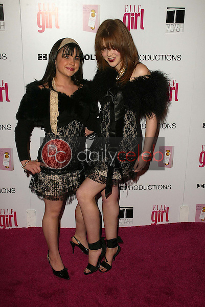 Courtney Chase and Renee Olstead