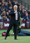 Stoke's Mark Hughes in action during the Premier League match at the London Stadium, London. Picture date November 5th, 2016 Pic David Klein/Sportimage