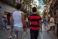 Walking in Madrid, Two Guys Walking