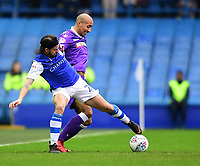 Bolton Wanderers' Karl Henry vies for possession with Sheffield Wednesday's George Boyd<br /> <br /> Photographer Chris Vaughan/CameraSport<br /> <br /> The EFL Sky Bet Championship - Sheffield Wednesday v Bolton Wanderers - Saturday 10th March 2018 - Hillsborough - Sheffield<br /> <br /> World Copyright &copy; 2018 CameraSport. All rights reserved. 43 Linden Ave. Countesthorpe. Leicester. England. LE8 5PG - Tel: +44 (0) 116 277 4147 - admin@camerasport.com - www.camerasport.com