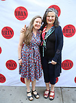 Sarah Ruhl and Kathleen Ruhl attends the 9th Annual LILLY Awards at the Minetta Lane Theatre on May 21,2018 in New York City.
